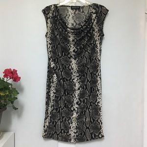 Jones New York Petite Snakeskin print dress. MP